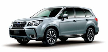 Forester 2.0XT EyeSight (Japanese specs.)